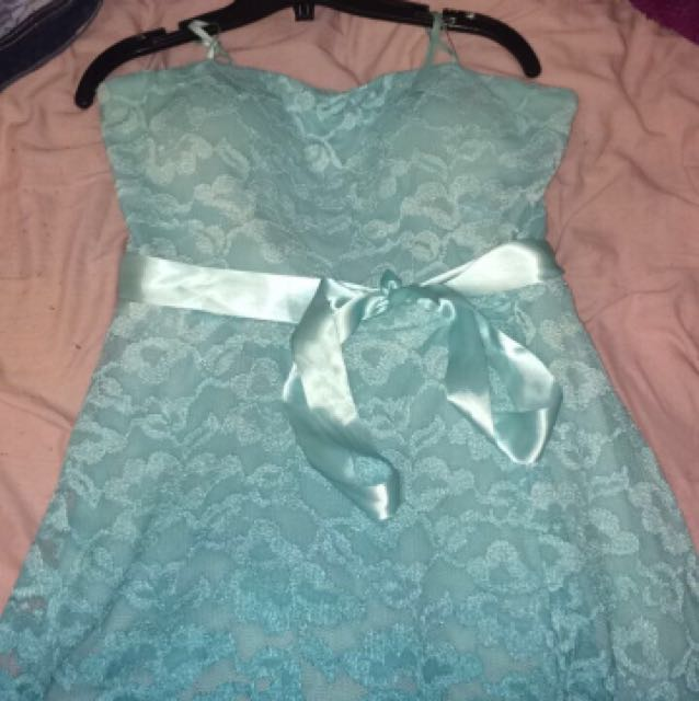 Blue Grad Dress/ Formal Dress