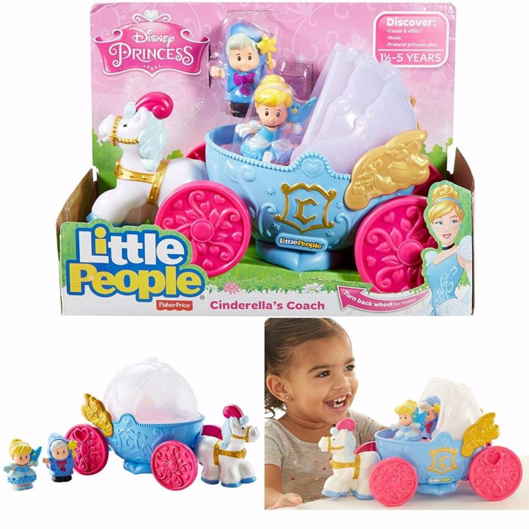 dd37e15868eb BNIB  Fisher Price Little People Disney Princess