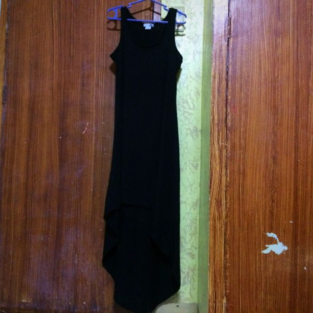 Body Central Long Back Dress