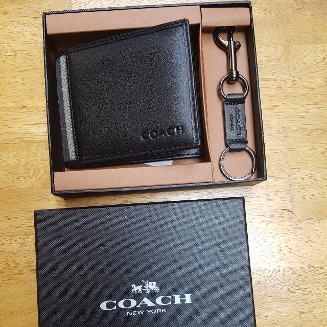 Brand New Original Coach Wallet Men Dompet Coach Pria b57a997445