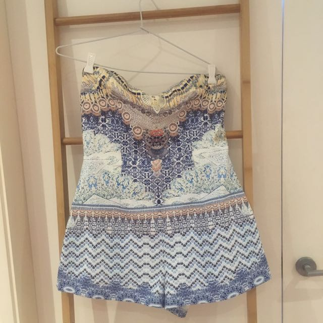 Camilla Style Printed Playsuit