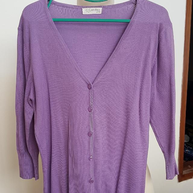 Candies Cardigan lavender