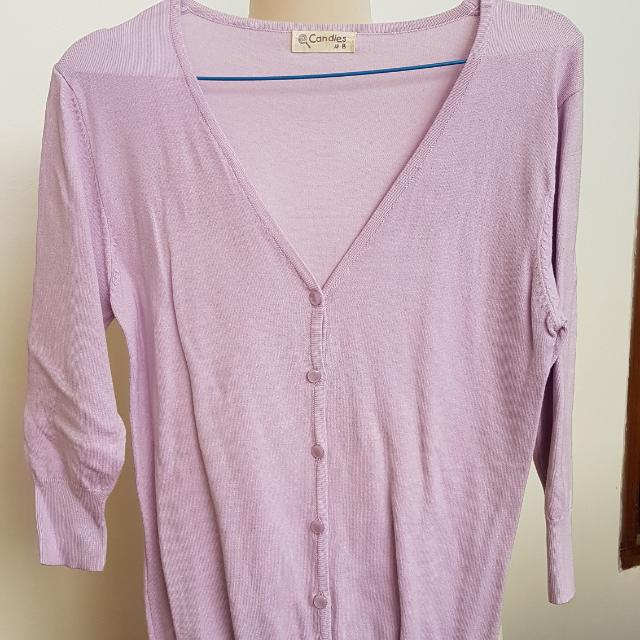 Candies Cardigan light purple