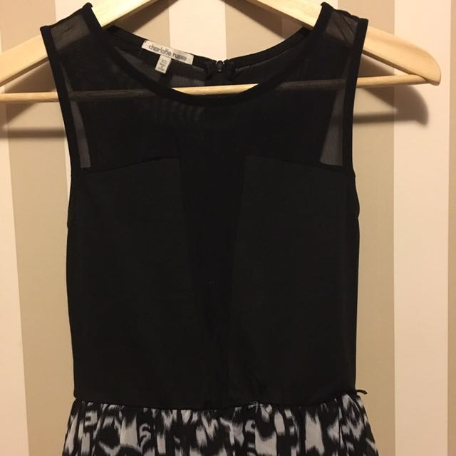 Charlotte Russe High Low Dress