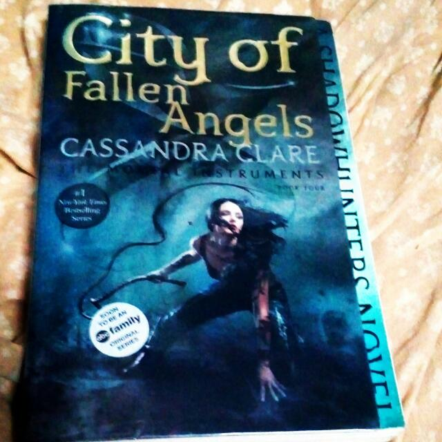 City Of Fallen Angels By Cassandra Claire