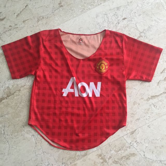 Croptop Jersey Manchester United