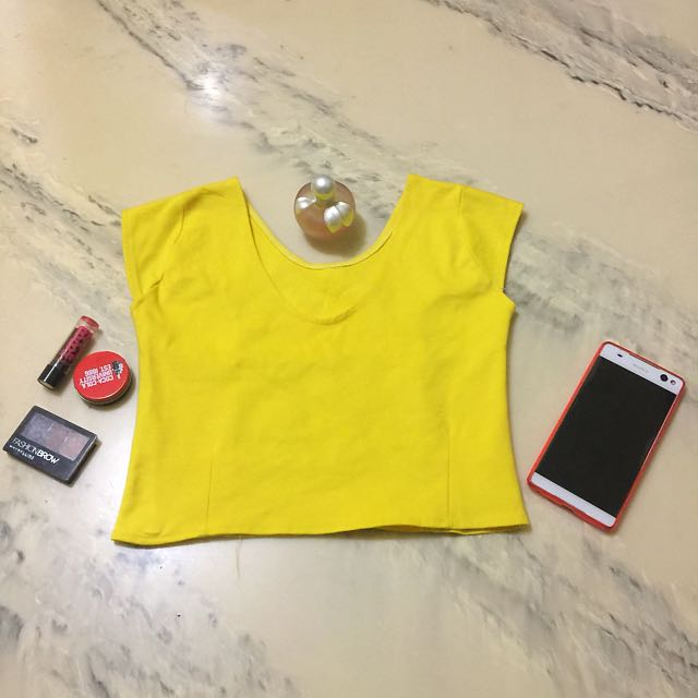 Croptop (yellow)