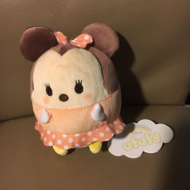 日本Disney Store米妮ufufy玩偶