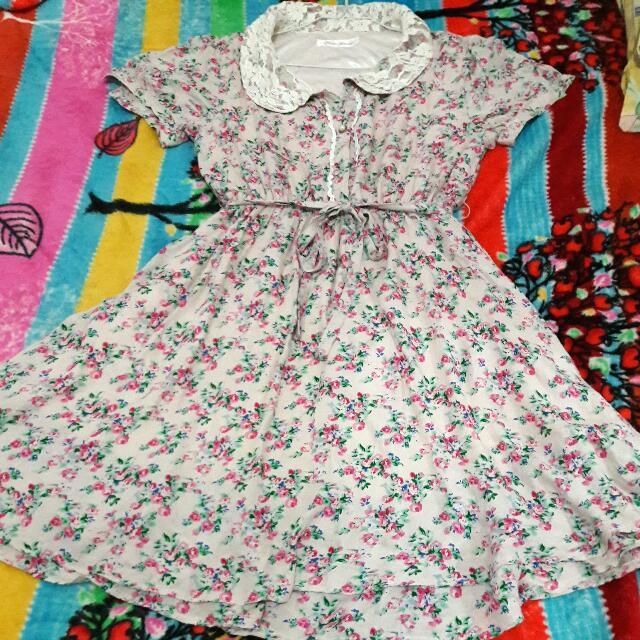 Dress Flowers / bunga Size S/M