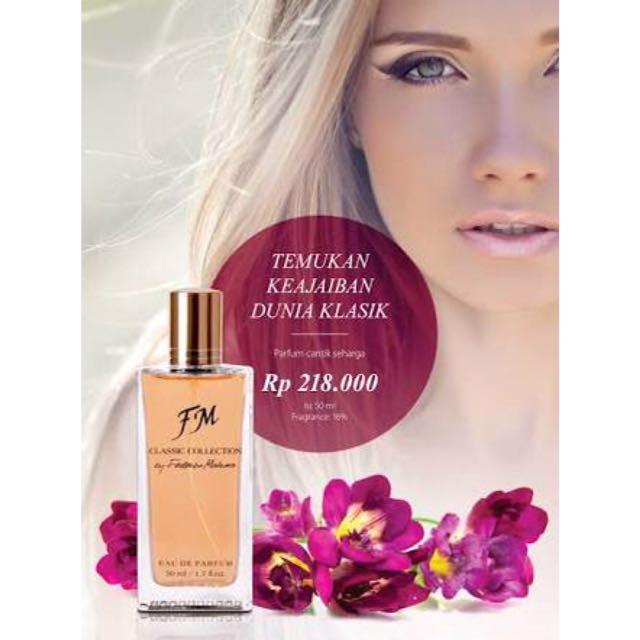 Eau De Parfume Classic Collection For Woman (FM)