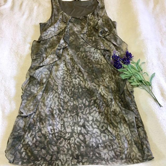 Esprit Ruffle Dress