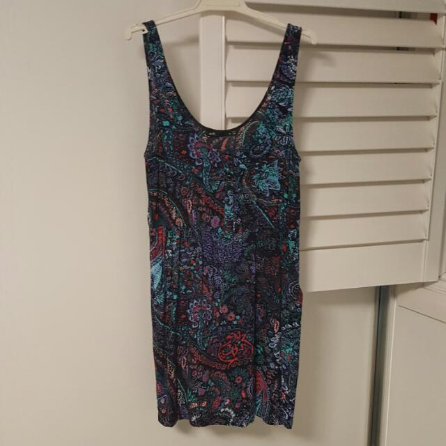 Floral Print Dress Size 10
