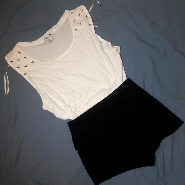 Forever21 Studded Top
