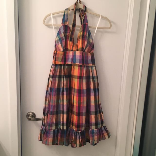 French Connection US2 Halter Dress