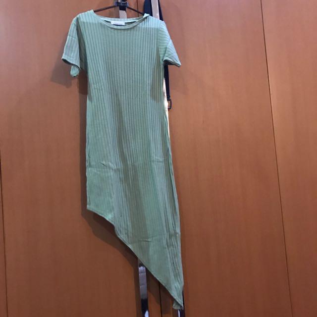 fs dress asimetris dress