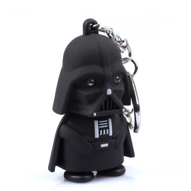Gantungan Kunci Star Wars Black Knight Darth Vader - With LED And Sound