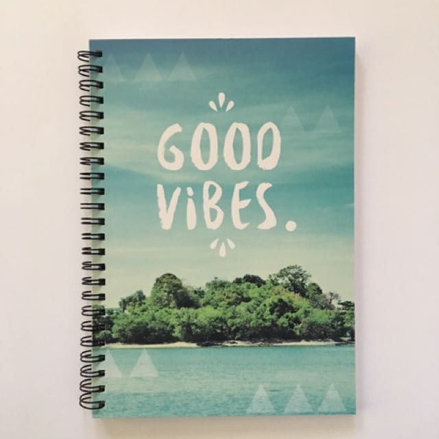 Good Vibes Ruled Notebook