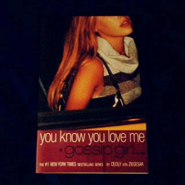 Gossip Girl #2: You Know You Love Me (Marked Down!)