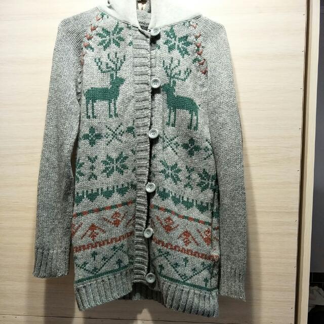 Gozo 麋鹿毛衣外套(全新只拆牌)