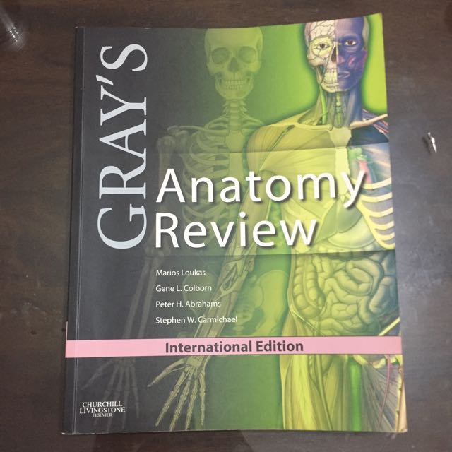 Grays Anatomy Review Books Stationery Books On Carousell