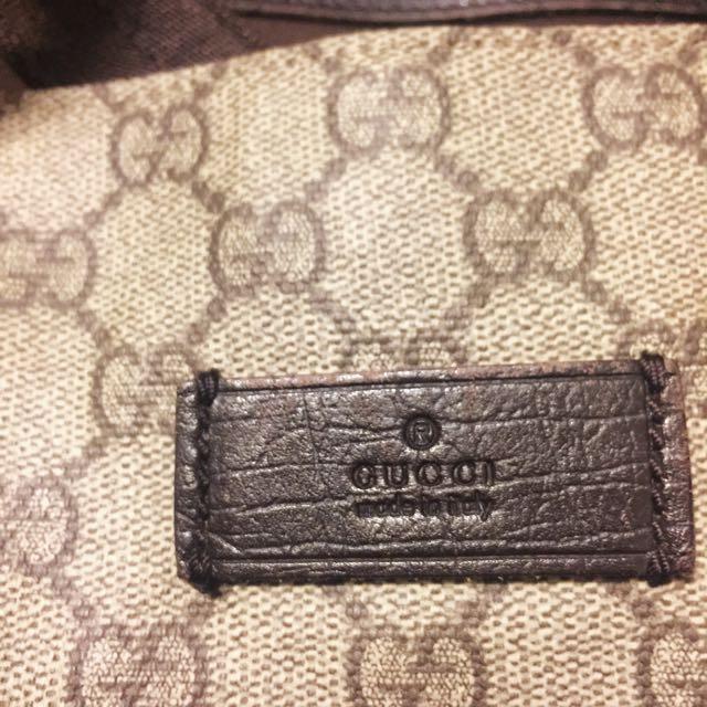 Gucci Monogram Shoulder Bag Hangbag 手袋 LV Prada Chanel Miumiu Louis Vuitton