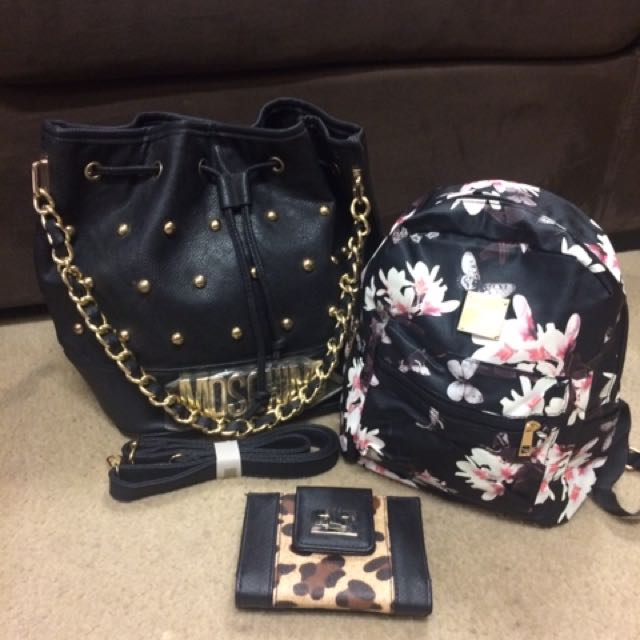 Handbag, Backpack And Wallet