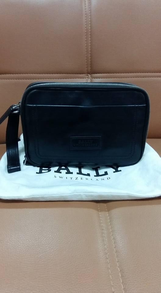 Handbag Bally Men Brown Original Asli Bekas Like New S Fashion Bags Wallets On Carou