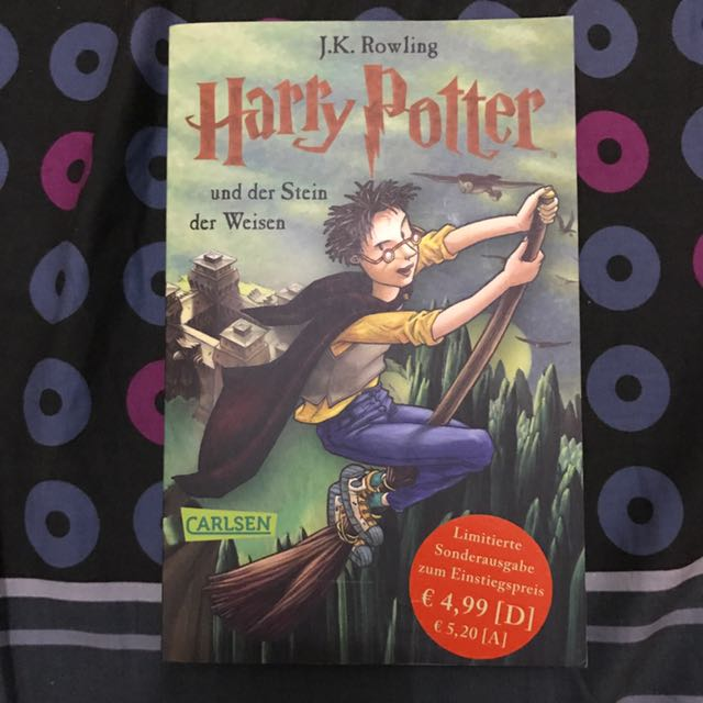 Harry Potter and the Sorcerer's Stone (German)