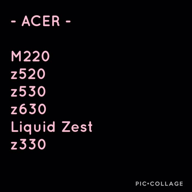 Interchangeable Case Acer