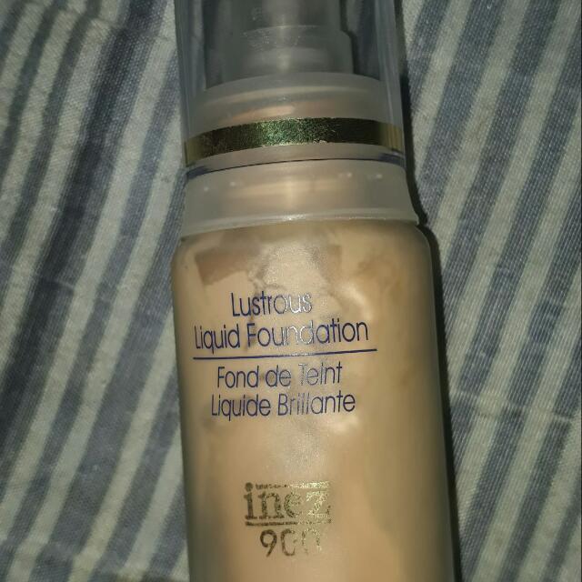 Inez Lustrous Liquid Foundation