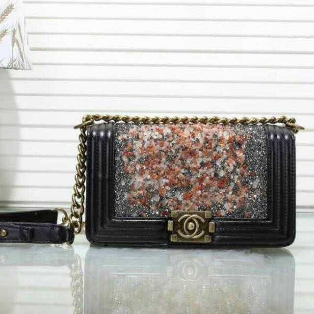 c5051ec5dc90 Inspired Chanel Boy Crossbody Small, Women's Fashion, Bags & Wallets on  Carousell