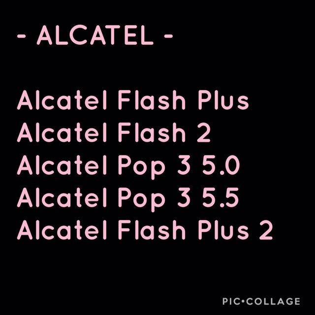 Interchangeable Cases- Alcatel Units
