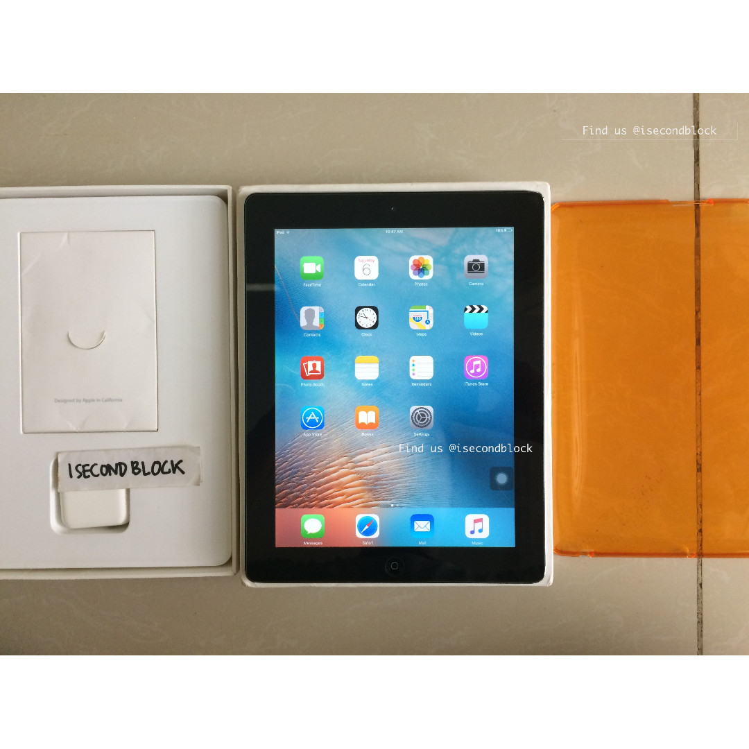 Ipad 2 64GB WIFI ONLY Second Fullset mulus