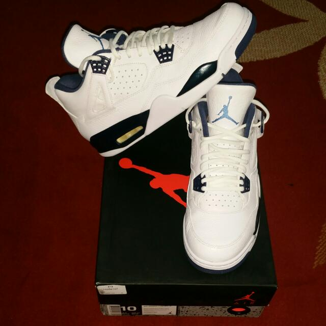 "Jordan 4 OG ""Legend Blue"" Remastered US 10 - $250"