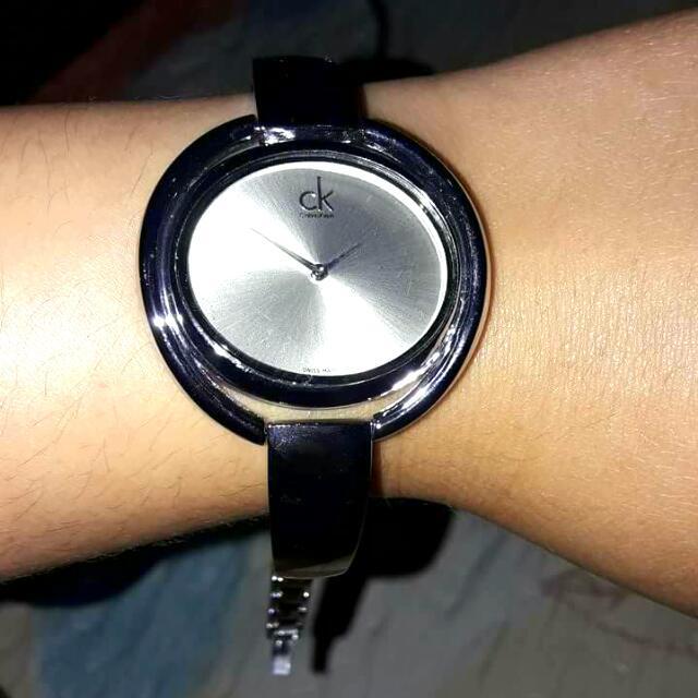 Kalvin clien wrist watch