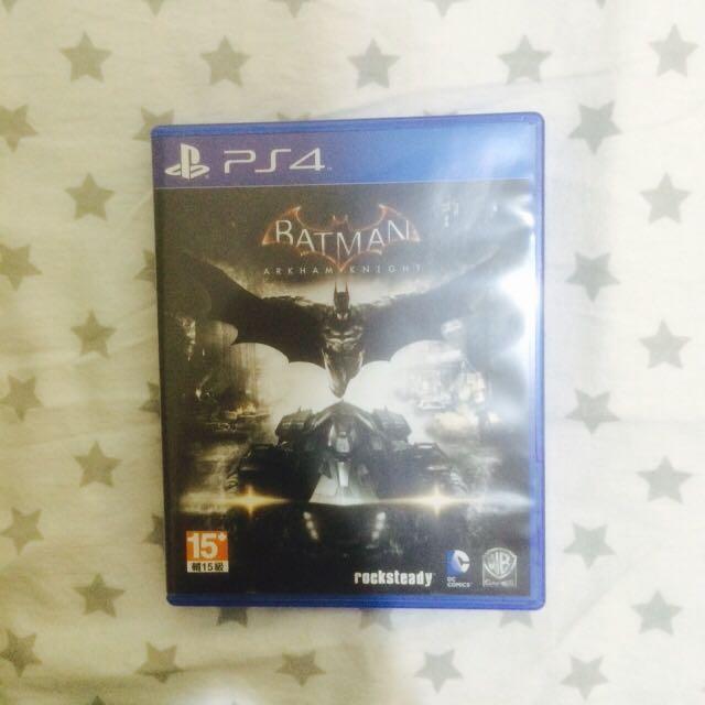 Kaset PS4 Batman Arkham Knight