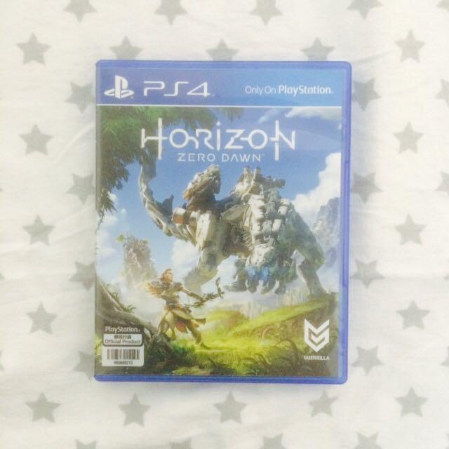 Kaset PS4 Horizon Zero Dawn