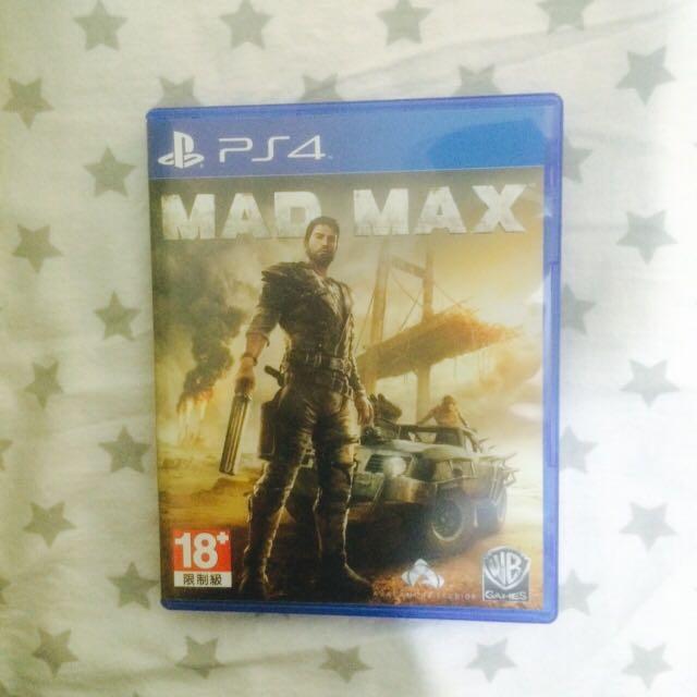 Kaset PS4 MAD MAX