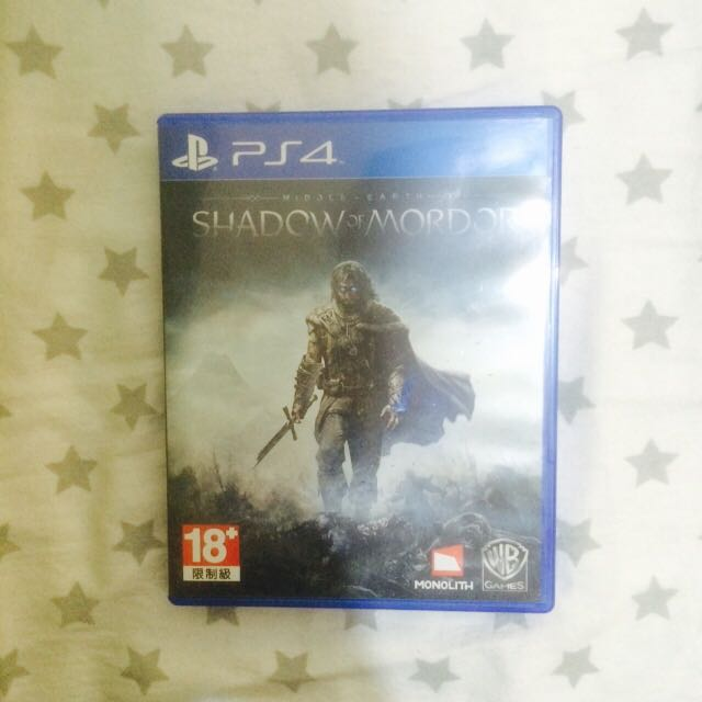 Kaset PS4 Middle Earth - Shadow of Mordor