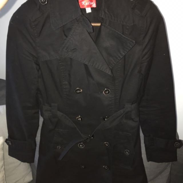 Katie Black Coat