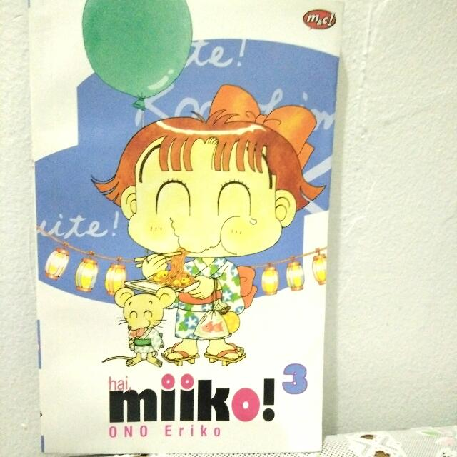 Komik Miiko vol 3