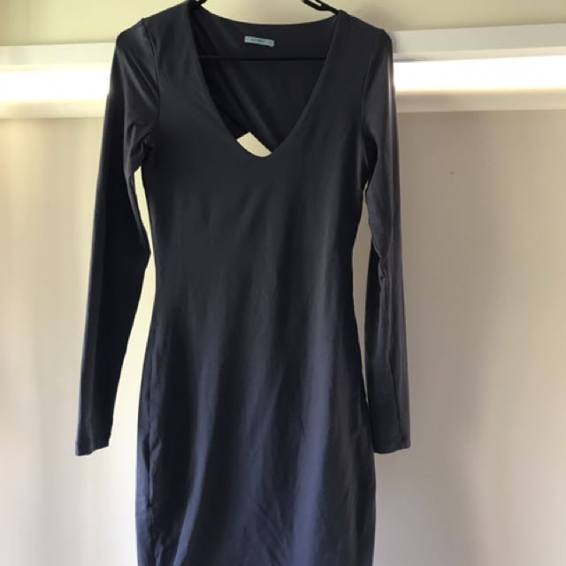 Kooikai Blue/grey Bodycon Dress