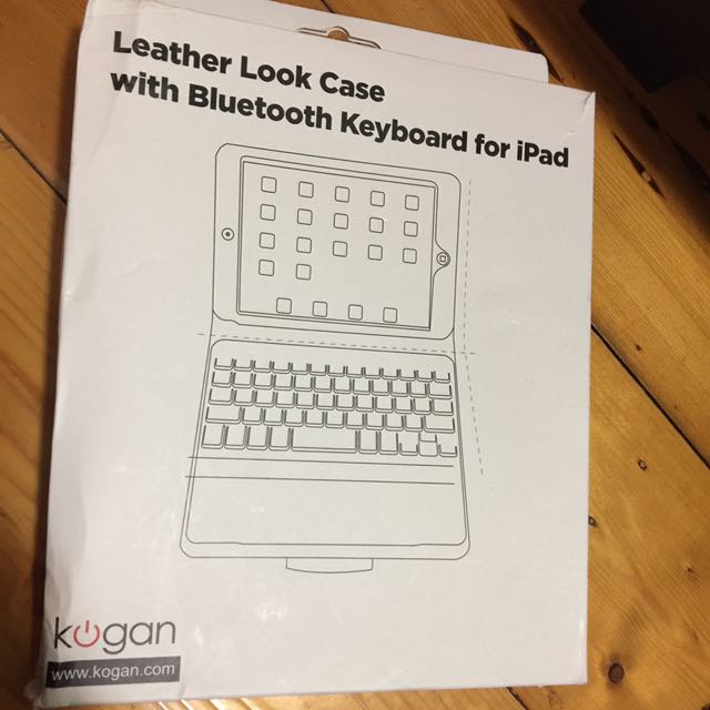 Leather Case With Bluetooth Keyboard