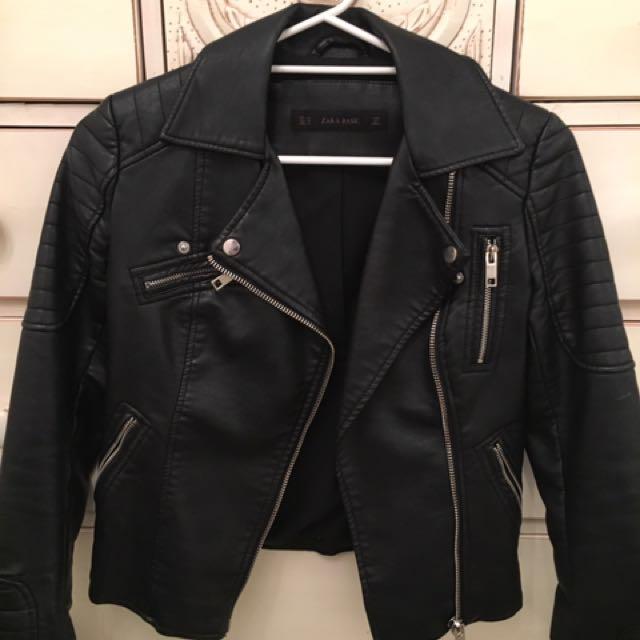 Leather jacket By Zara