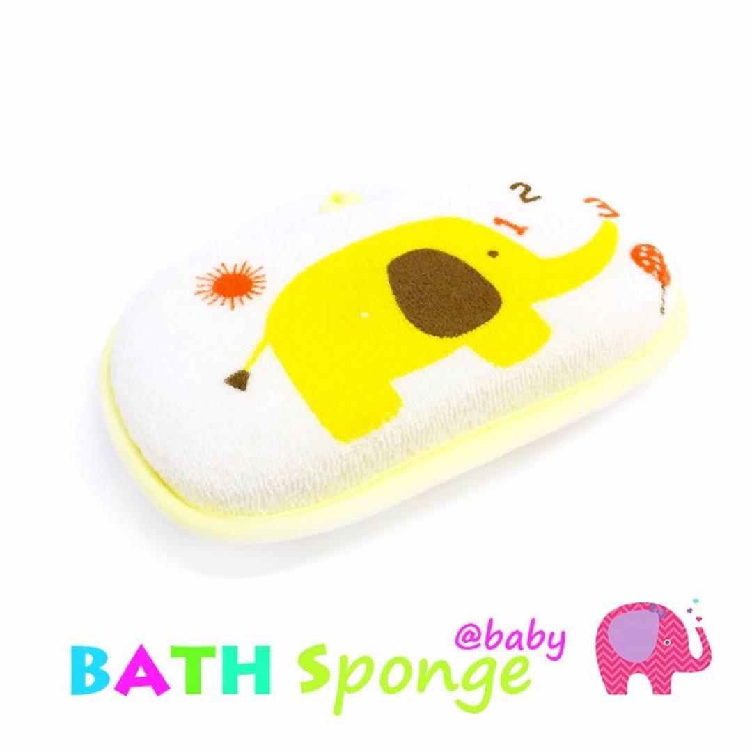 Little elephant baby BATH SPONGE