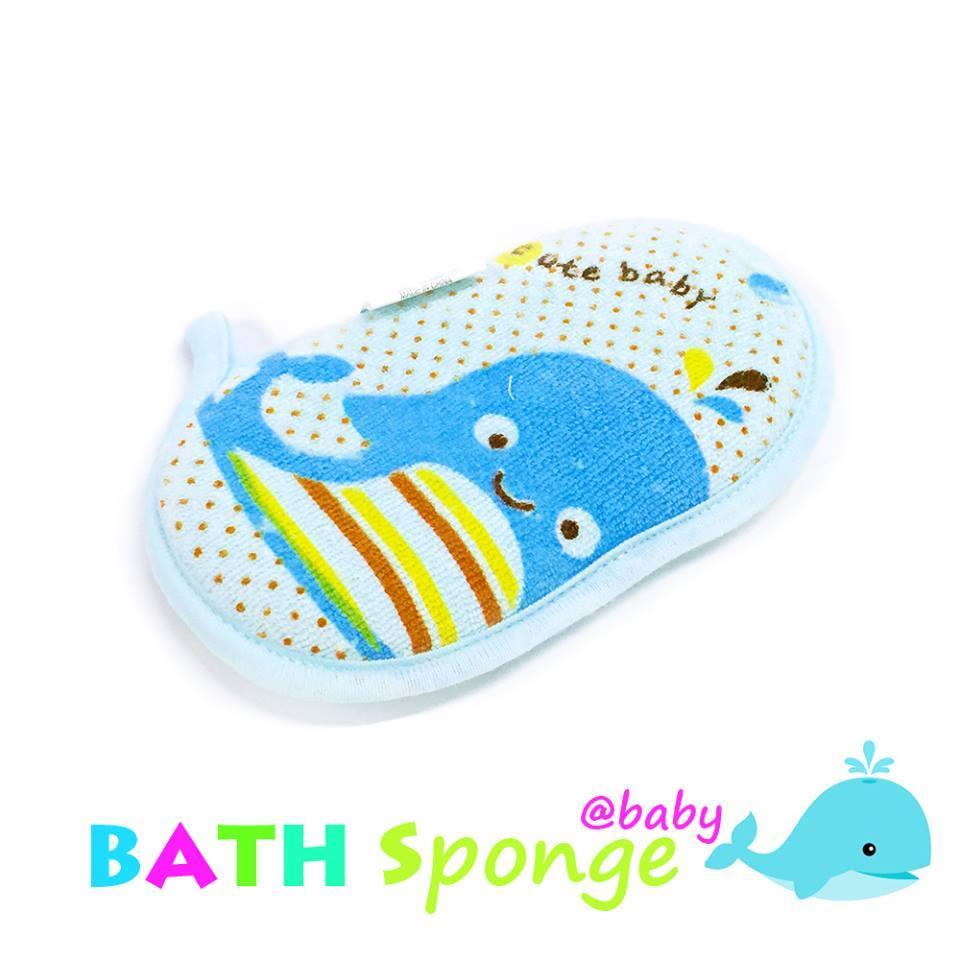 Little whale baby BATH SPONGE