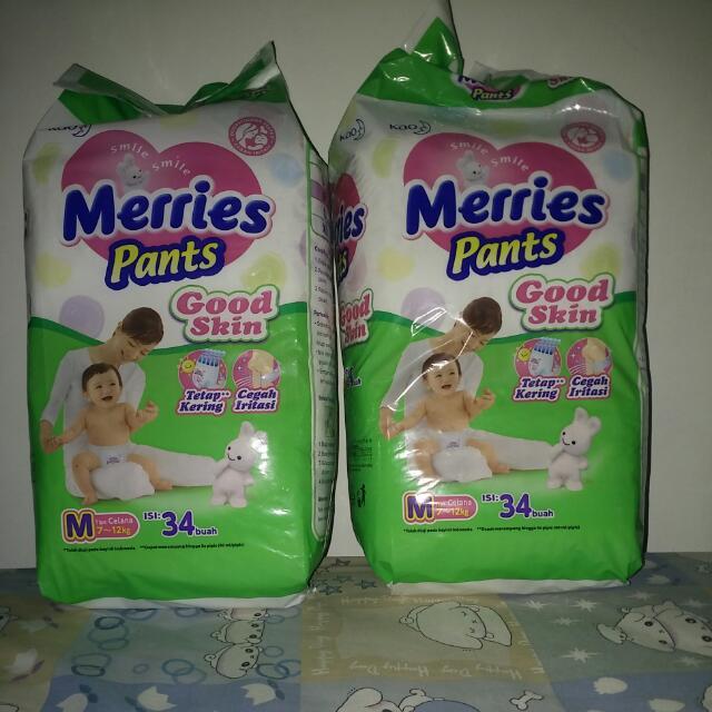 Merries Pants Good Skin Size M