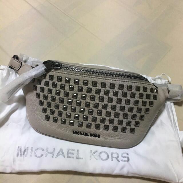 Michael Korr Leather Belt bag