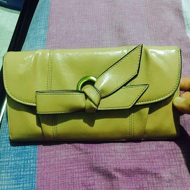 Michaela Old Rose Leather Wallet