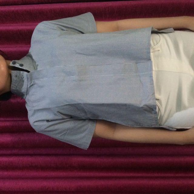 Miroir Stripe Shirt (Local Brand)